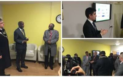Ethiopian Ambassador Praises NILC During First Visit to Wales