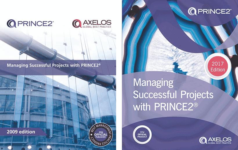 PRINCE2 Manual 2009 vs 2017