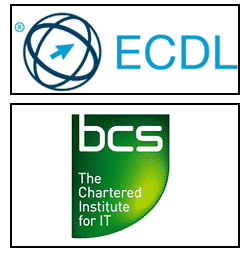 NILC Training ECDL Certification Logos