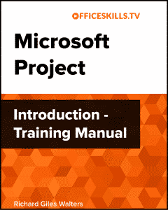 Microsoft Project Introduction Training Manual