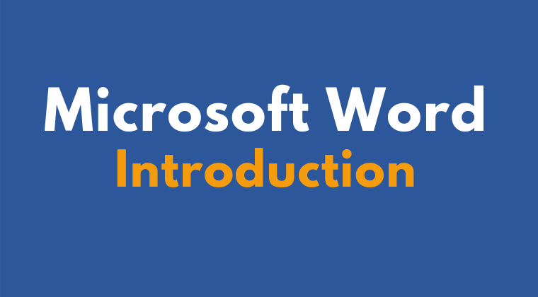 Microsoft Word Introduction Online Training Course
