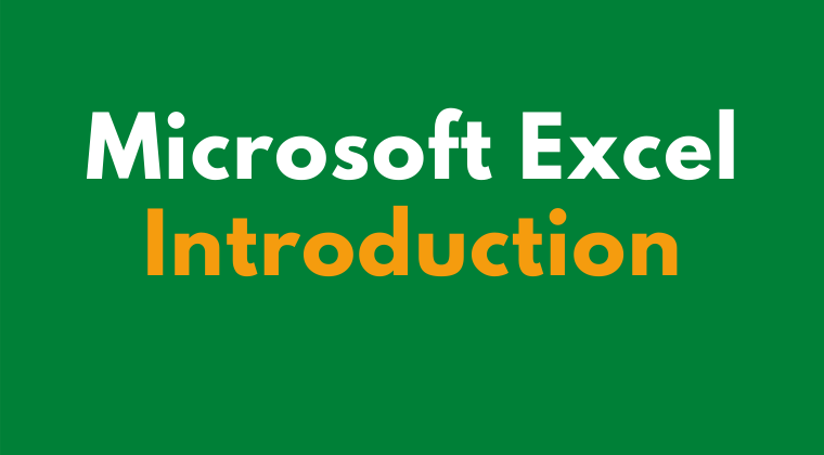 Microsoft Excel Introduction Online Training Course